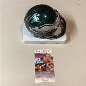 Other - LeSean McCoy  Signed Eagles Mini Helmet  JSA